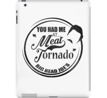 Ron swanson , Meat tornado iPad Case/Skin