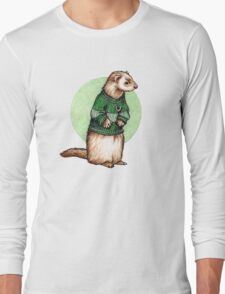 Little Slytherin Ferret Draco Malfoy Long Sleeve T-Shirt