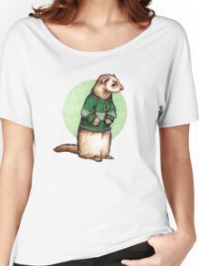 Little Slytherin Ferret Draco Malfoy Women's Relaxed Fit T-Shirt