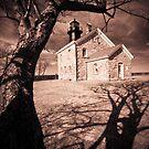 Old Field Lighthouse by Marzena Grabczynska Lorenc
