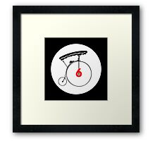 The Prisoner Badge Framed Print