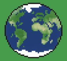 Pixel Planet Kids Tee