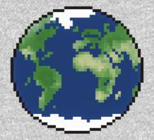 Pixel Planet One Piece - Short Sleeve