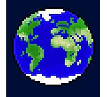 Pixel Planet Photographic Print