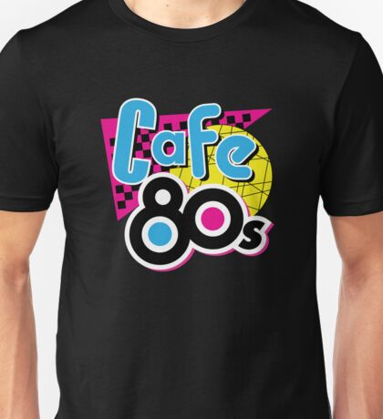 Alternative Cafe 80s Unisex T-shirt