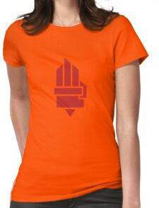 The Hunger Games - Hand (Red Version) Womens Fitted T-Shirt