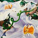 Sensualaticia - oil painting of a Mexican climbing vine by James  Knowles
