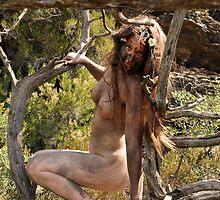 Fille des bois. Wood girl by Auquier