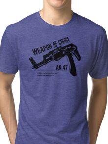 'Weapon of Choice - AK47' Tri-blend T-Shirt