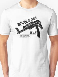 'Weapon of Choice - AK47' T-Shirt