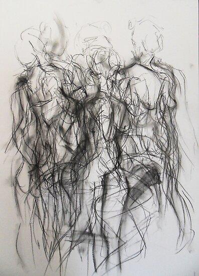 Moving figure, 2011 by Thelma Van Rensburg