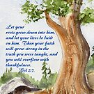 Strong Roots - Colossians 2:7 by Diane Hall