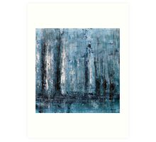Beyond the Twin Towers Art Print