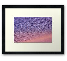 White Sands XV Framed Print