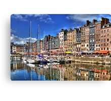 Honfleur - Harbor Canvas Print