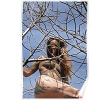 Fille des arbres. Tree girl Poster