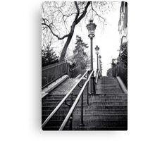 Montmartre Lamp Canvas Print