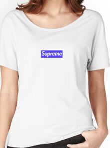 Supreme Blue Bogo  Women's Relaxed Fit T-Shirt