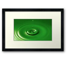 Serenity - Peace in a Fraction of a Second Framed Print