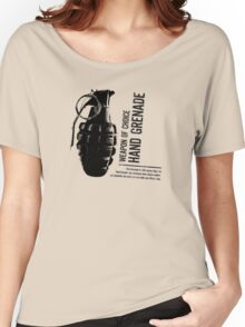 'Weapon of Choice - Hand Grenade' Women's Relaxed Fit T-Shirt