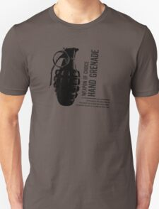 'Weapon of Choice - Hand Grenade' T-Shirt
