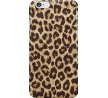 Leopard Print iPhone Case/Skin