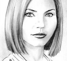 Charisma Carpenter mini-portrait PSC by wu-wei
