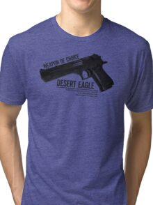 'Weapon of Choice - Desert Eagle' Tri-blend T-Shirt