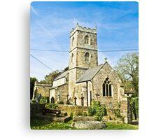 St Thomas the Apostle Church, Redwick Canvas Print