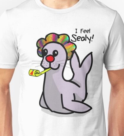 I feel sealy! Unisex T-Shirt