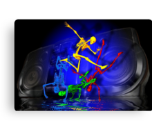 And the beat goes on. Canvas Print
