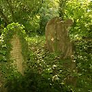 Angel & Grave - Nunhead by John Hare