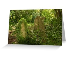 Angel & Grave - Nunhead Greeting Card