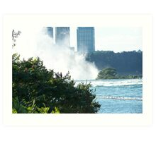 The other side to the Falls Art Print