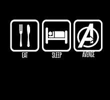 Eat Sleep Avenge by StephJp