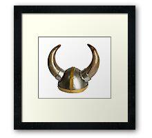 Horn Helmet Framed Print