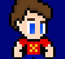 8-Bit Jimmy Neutron by UniverseET