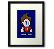 8-Bit Jimmy Neutron Framed Print