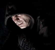 The hooded man by Lissywitch
