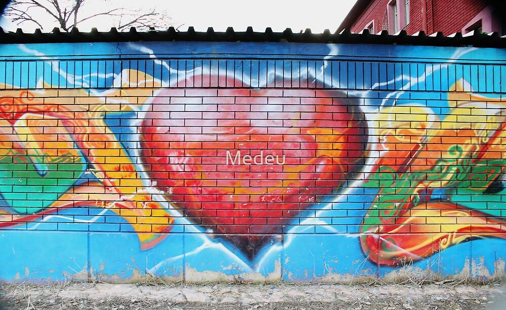graffiti by Medeu