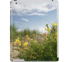 Sand Dune Wildflowers iPad Case/Skin