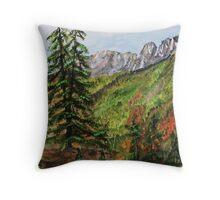 American Pass in the Cascade Mountains Throw Pillow