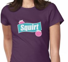 Squirt! Soda Can Sign! Womens Fitted T-Shirt