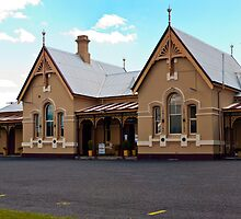 Tenterfield Railway Station by Odille Esmonde-Morgan
