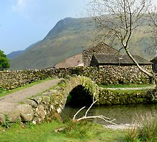 Packhorse Bridge, Wasdale Head by mikebov