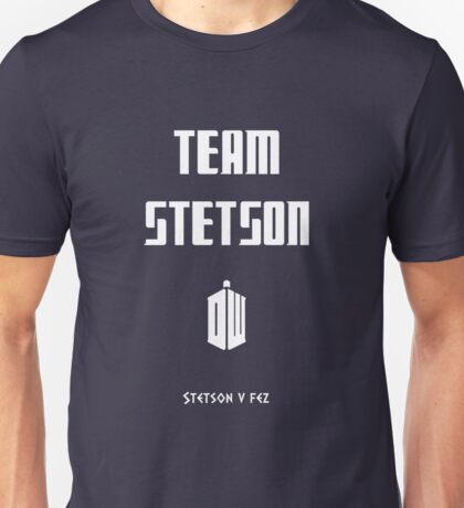 Doctor who - Team Stetson Unisex T-Shirt