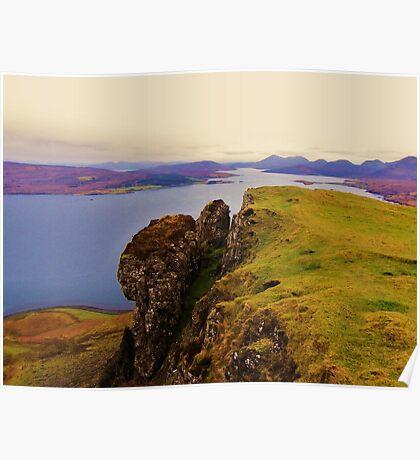 Raasay & The Cuillins- Isle of Skye Poster