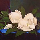 Magnolias, After MJ Heade by Jean LeBaron