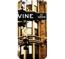 Vine Street - Downtown Cincinnati iPhone Case/Skin