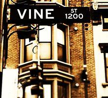 Vine Street - Downtown Cincinnati by Alex Baker